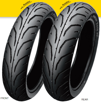 DUNLOP ダンロップ オンロード・ハイグリップ GP SERIES TT900GP【150/70-17 M/C 69H TL】ジーピーシリーズ タイヤ