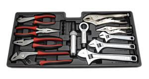 SANKEN サンケン セット工具 15PC プライヤー&レンチセット