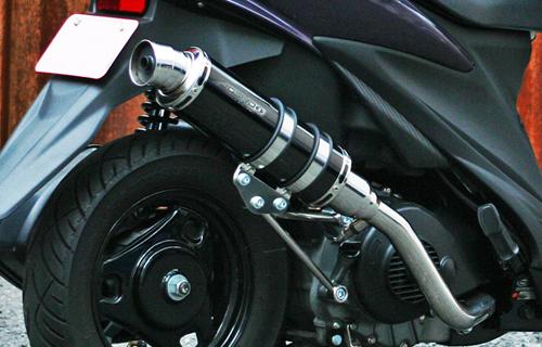 JOSHO1 HYPER RACING ジョウショウ1 ハイパーレーシング フルエキゾーストマフラー コルペンドエキゾースト マフラー サイレンサー:ブラックステン アドレスV125