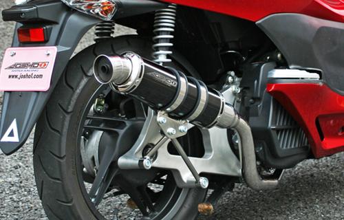 JOSHO1 HYPER RACING ジョウショウ1 ハイパーレーシング フルエキゾーストマフラー コルペンドエキゾーストS マフラー サイレンサー:ブラックステン PCX150