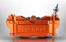frando フランドー HF-2キャリパーサポートセット キャリパーカラー:オレンジ YZF-R25 YZF-R3