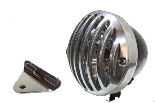 ガレージT&F 4.5インチバードゲージヘッドライト&ライトステー(タイプA)キット ドラッグスター1100