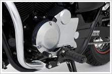 HONDA ホンダ スプロケットカバー:クロムメッキタイプ VT400S VT750S