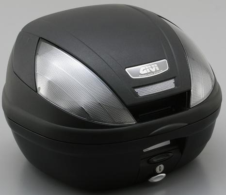 GIVI ジビ トップケース・テールボックス モノロックケース E370シリーズ カラー:未塗装ブラック(TECHスモークレンズ) [E370NT]