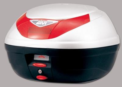 【在庫あり】GIVI ジビ トップケース・テールボックス モノロックケース E350 FLOWシリーズ カラー:パールホワイト塗装 [E350B906]