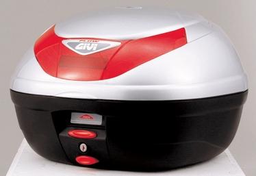 GIVI ジビ トップケース・テールボックス モノロックケース E350 FLOWシリーズ カラー:シルバー塗装 [E350G730]