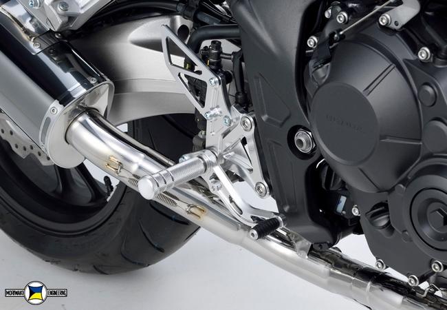 MORIWAKI ENGINEERING モリワキエンジニアリング バックステップキット CB650F 14-、CBR650F 14-