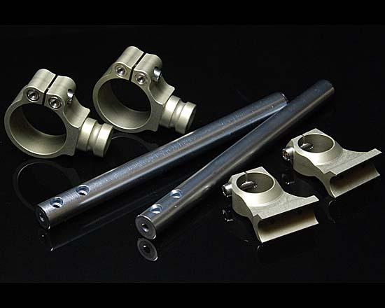 Two Brothers Racing ツーブラザーズレーシング セパレートハンドル アジャスタブル ライザー40mm ハンドルキット クランプ52mm・ライザー40mm