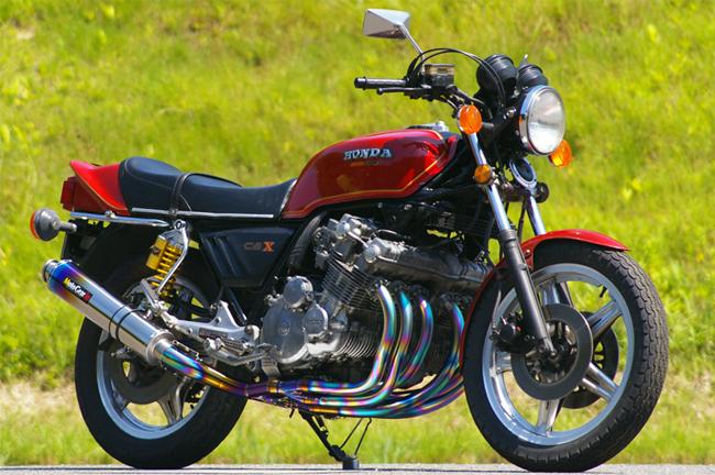 MotoGear モトギア 手曲げフルエキゾーストマフラー CBX1000 サイレンサータイプ:チタンスラッシュエンドタイプC(イン側、エンド側 モトギア、カール部) MotoGear ステップステーキットなし CBX1000, アキ オンラインショップ:d6fd80ac --- sunward.msk.ru
