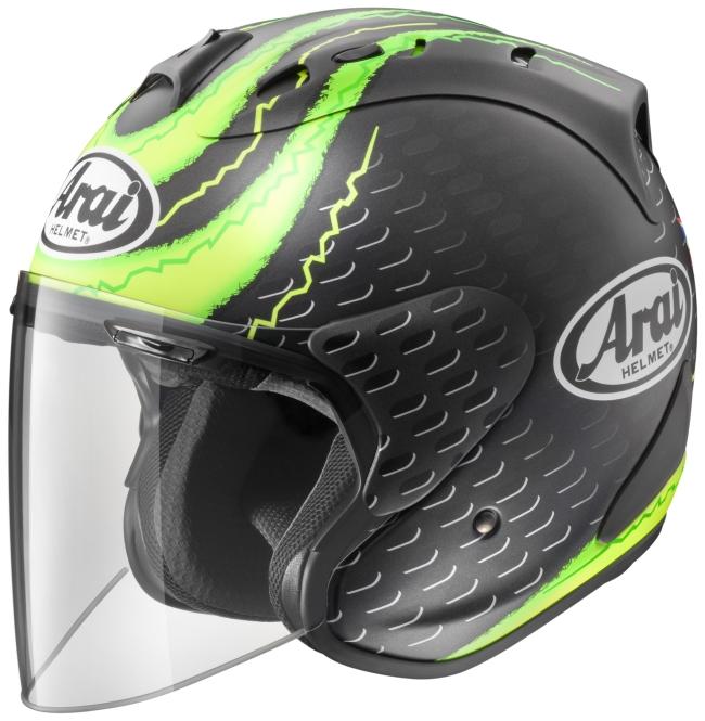 【在庫あり】Arai アライ ジェットヘルメット SZ-RAM4 CRUTCHLOW GP [エスゼット ラム4 クラッチロウGP (つや消し)] ヘルメット サイズ:XS(54cm)