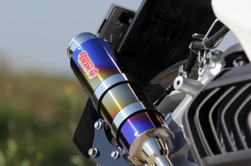 SP忠男 SP Tadao POWER BOX FULL(パワーボックスフル) R フルエキゾーストマフラー SMAX マジェスティS