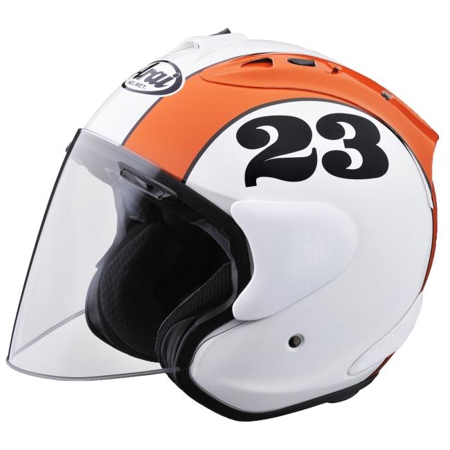 【在庫あり】Arai アライ ジェットヘルメット SZ-RAM4 STOUT [エスゼット ラム4 スタウト グラスホワイト] ヘルメット サイズ:S(55-56cm)