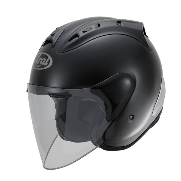 Arai アライ ジェットヘルメット SZ-RAM4 GR [エスゼット ラム4 ジーアール グラスブラック] ヘルメット サイズ:M(57-58cm)