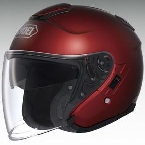 SHOEI ショウエイ ジェットヘルメット J-Cruise [ジェイ-クルーズ ワインレッド] ヘルメット サイズ:M (57cm - 58cm)