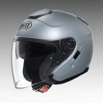 SHOEI ショウエイ ジェットヘルメット J-Cruise [ジェイ-クルーズ パールグレーメタリック] ヘルメット サイズ:S (55cm)