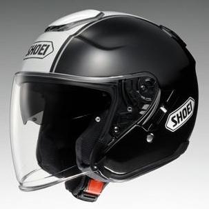 SHOEI ショウエイ ジェットヘルメット J-Cruise CORSO [ジェイ-クルーズ コルソ TC-5 BLACK/WHITE] ヘルメット サイズ:S (55cm)