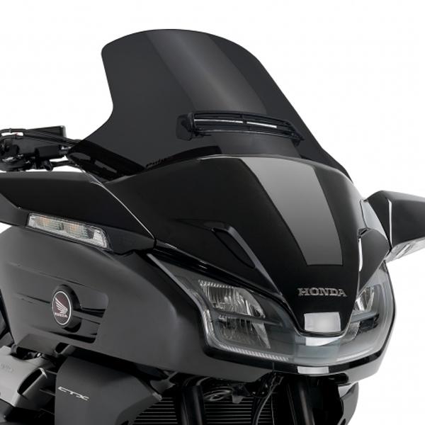 Puig プーチ ツーリングスクリーン カラー:ブラック CTX1300