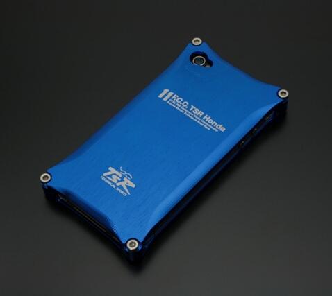 TSR テクニカルスポーツレーシング スマートフォンケース iPhone アルミソリッドケース