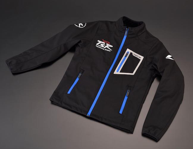 テクニカルスポーツレーシング ナイロンジャケット TSRソフトシェルジャケット サイズ:L
