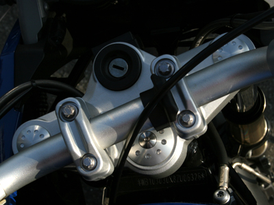MOTO CORSE モトコルセ フレームカバー アルミニウム ビレット フレームプラグ R1200GS/GSA