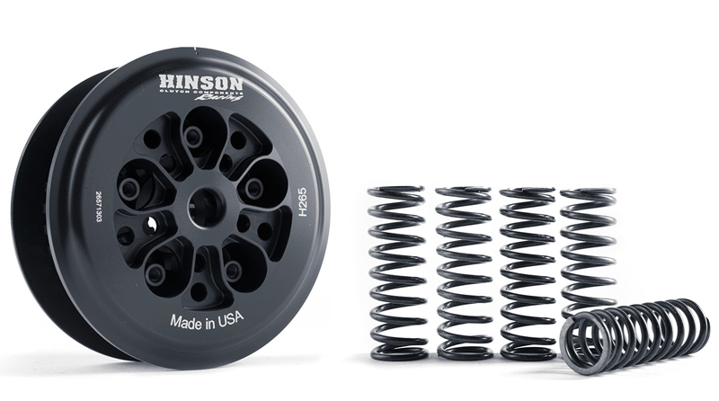 HINSON ヒンソン ビレットクラッチプレシャープレート&インナーハブ&スプリングセット CRF250R
