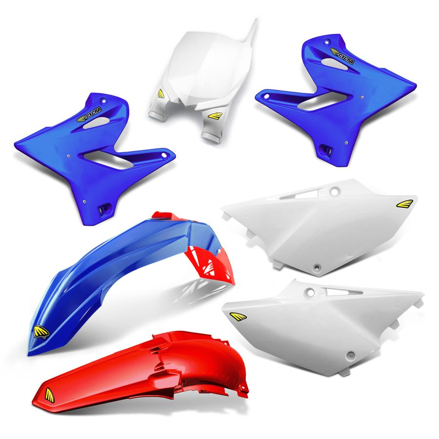 CYCRA サイクラ フルカウル・セット外装 パワーフローインテークラジエターボディキット カラー:ブルー/レッド YZ125 YZ250 YZ250X