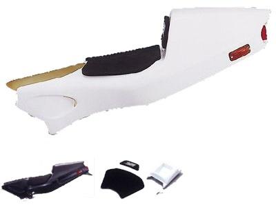 スペシャルパーツイハラ シート本体 SPIスペシャルシート・レーシングタイプ カラー:ホワイト NSR50