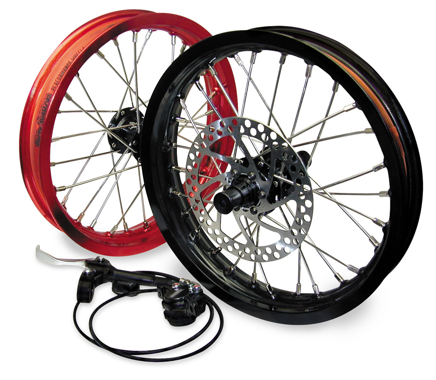 RED BARON RACING レッドバロンレーシング ファクトリーフォークUPGキット12 TTR50