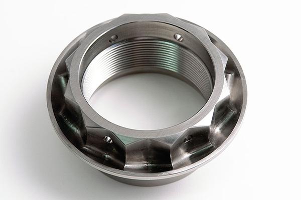 MOTO CORSE モトコルセ ホイール関連パーツ CNC チタニウムリヤホイールナット