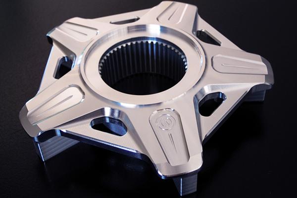 MOTO CORSE モトコルセ ホイール関連パーツ CNC リヤスプロケットキャリア カラー:シルバー
