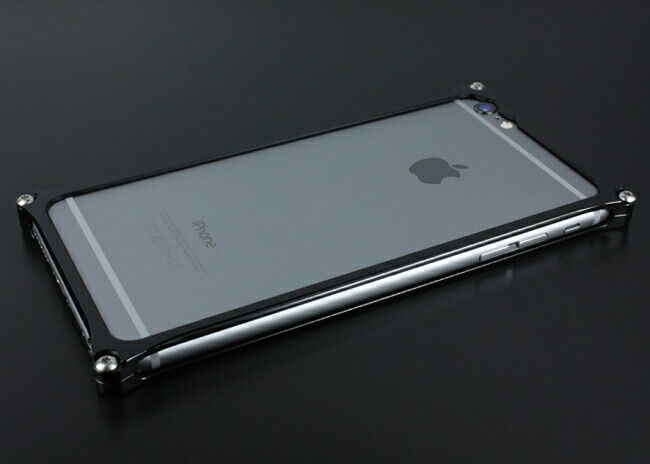 GILD design ギルドデザイン ソリッドバンパー for iPhone6/S Plus ブラック