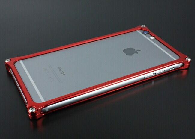 GILD design ギルドデザイン ソリッドバンパー for iPhone6/S Plus レッド