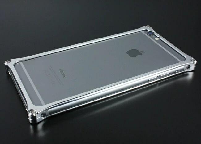 GILD design ギルドデザイン ソリッドバンパー for iPhone6/S Plus ポリッシュ