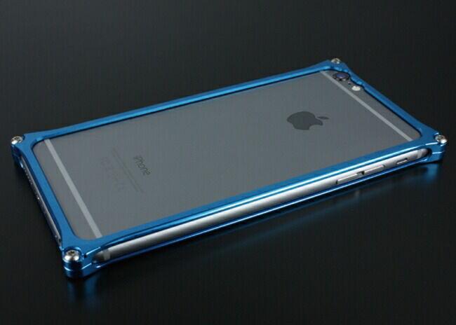GILD design ギルドデザイン ソリッドバンパー for iPhone6/S Plus ブルー