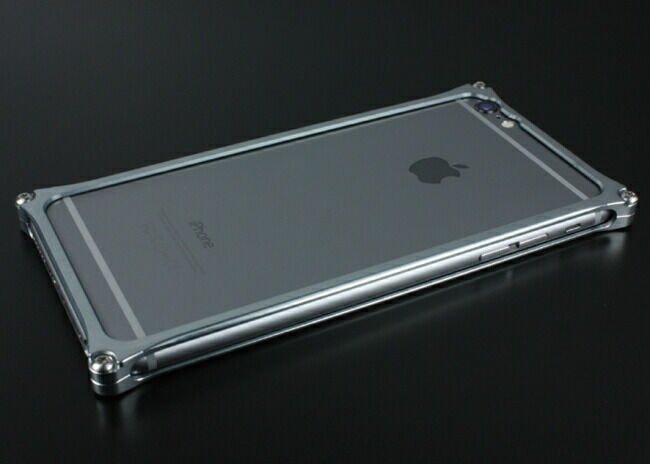 GILD design ギルドデザイン ソリッドバンパー for iPhone6/S Plus グレー