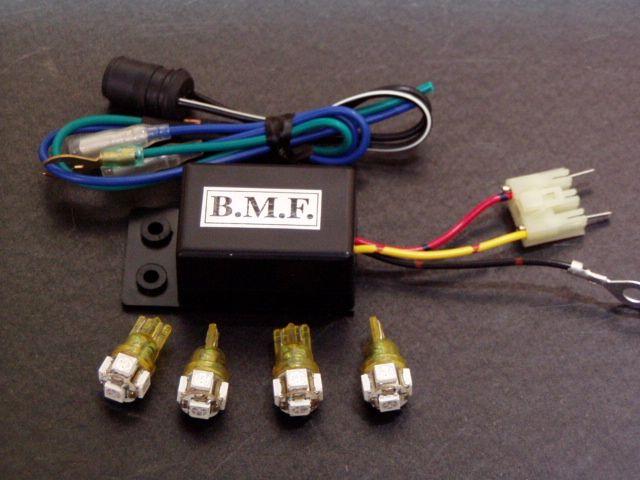 ビームーンファクトリー B-MOON FACTORY BMF その他電装パーツ LEDウインカーバルブ/デジタルリレーセット アクシストリート