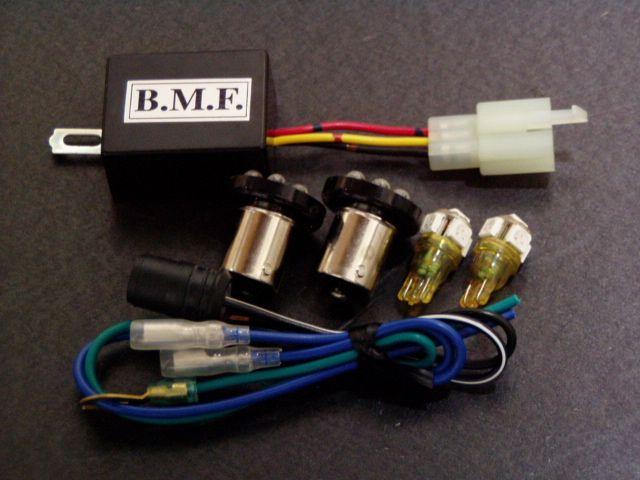 ビームーンファクトリー B-MOON FACTORY LEDウインカーバルブ/デジタルリレーセット シグナスX 125