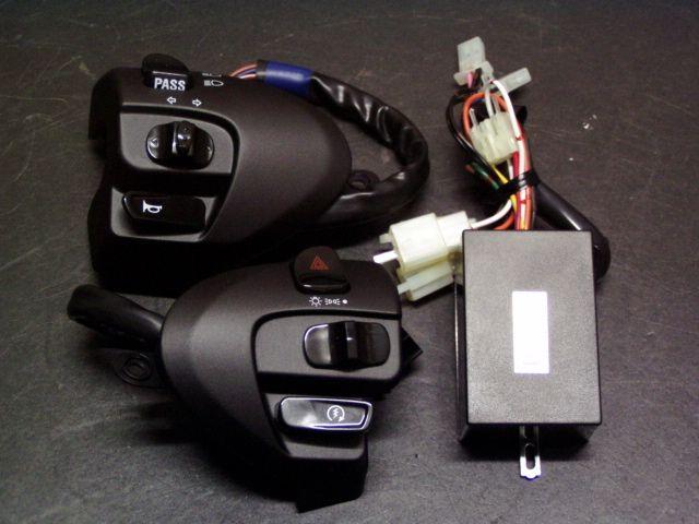 ビームーンファクトリー B-MOON FACTORY ウインカーポジション/デジタルハザード/ハンドルホルダーセット シグナスX 125 (SE44J|日本仕様)