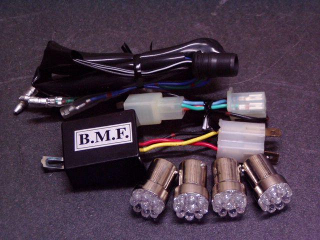 ビームーンファクトリー B-MOON FACTORY BMF その他電装パーツ LEDウインカーバルブ/デジタルリレーセット ZOOMER-X [ズーマーエックス]