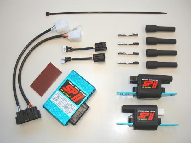 ASウオタニ AS UOTANI イグニッションコイル・ポイント・イグナイター関連 SPIIフルパワーキット CBX750F