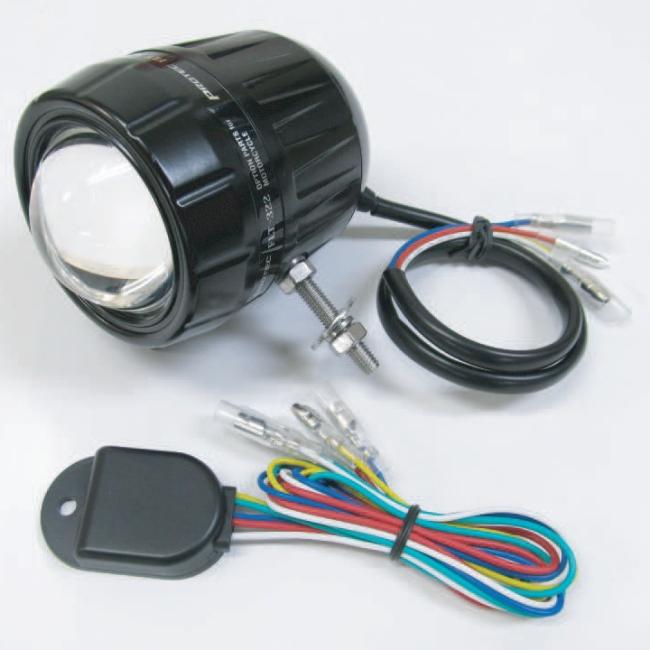 PROTEC プロテック その他灯火類 FLT-322 LEDフォグライト 遮光板無し REVセンサー機能無(増設用子機) ボルト方向:左 12V車用