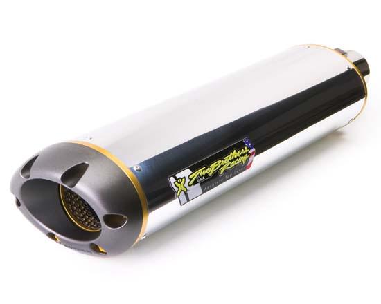 Two Brothers Racing ツーブラザーズレーシング バッフル・消音装置 M2H アルミサイレンサー サイズ:10インチ
