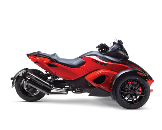 Two Brothers Racing ツーブラザーズレーシング VALE デュアルスリップオンマフラー M2 チタンサイレンサー Can-am Spyder RS (08-12)