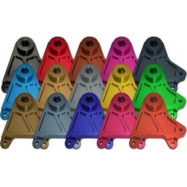 KOHKEN コーケン(旧光研電化) リアキャリパーサポート 【カラーアルマイト】 カラー:ハードアルマイト(ハードナチュラル) GSX1300R HAYABUSA [ハヤブサ]