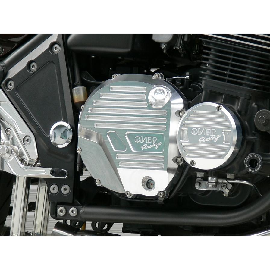 OVER オーヴァー オーバー エンジンカバー クラッチカバー ゼファー1100