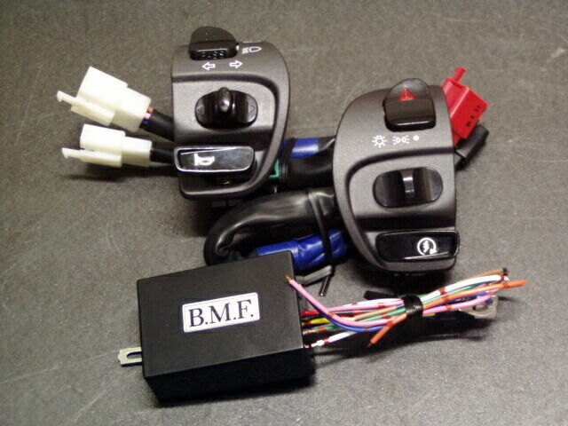 ビームーンファクトリー B-MOON FACTORY BMF その他電装パーツ ウインカーポジション デジタルハザード ハンドルホルダーセット シグナスX125
