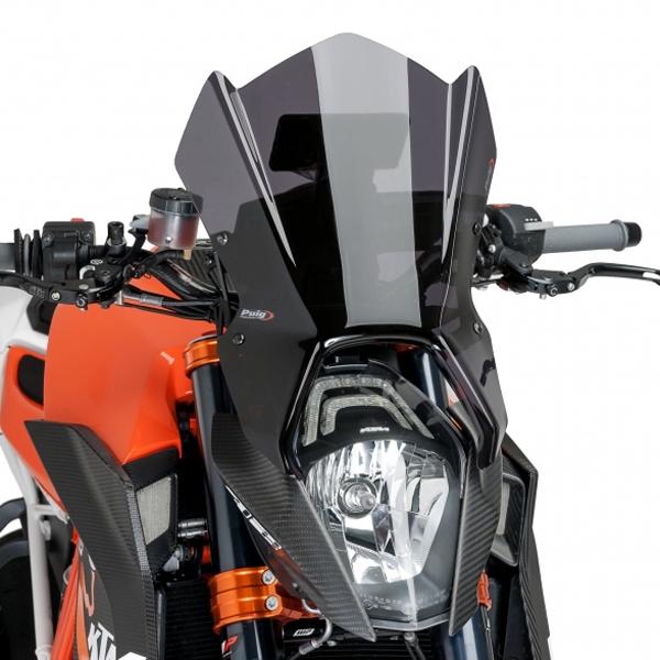 Puig プーチ ニュージェネレーションNKスクリーン(GPSブラケット対応) カラー:カーボンプリント 1290 SUPER DUKE R