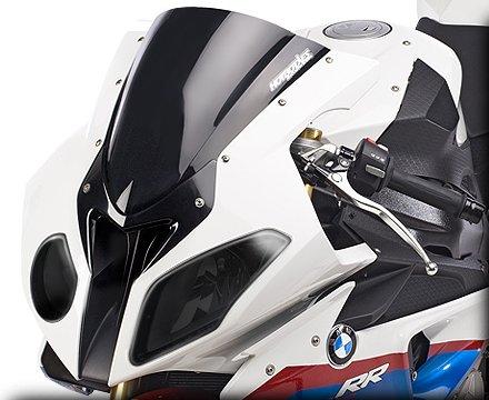 HOT BODIES RACING ホットボディーズ レーシング ヘッドライト本体・ライトリム/ケース ヘッドライトカバー カラー:Transparent スモーク [2001-0916] S1000RR 2010-2011