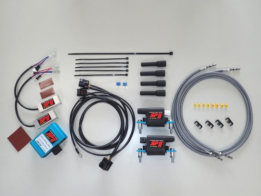 ASウオタニ AS UOTANI イグニッションコイル・ポイント・イグナイター関連 SPIIハイパワーコイルセット ZRX1200ダエグ