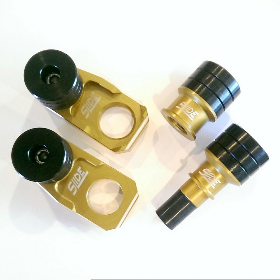 SME エスエムイー ガード・スライダー フロント&リアアクスル ブロック スライダーセット Slide カラー:シルバー RM-X450Z